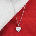 Personalized Beautiful Mini Heart Pewter Insert Locket