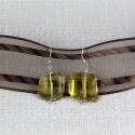 Chunky Lemon Quartz Earrings