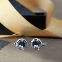 Lovely Dice Novel Circular Cuff Links Great Gift For Him Who Loves Fun