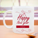 Brilliant And Perfect Happy New Year Decorative Personalize 11 oz Mug