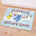 Personalized Laundry Room Doormat
