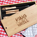 Personalized King of the Grill Set