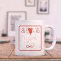 I Love You Beautifully Personalized Valentine Day Decorative Mug