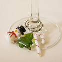 Beautiful Colourful Holiday Favorites Wine Charms