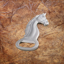 Horse Head Bottle Opener with Custom Name Message Monogram Engraved