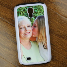 Personalized White Samsung Galaxy S4 Phone Case Custom Image Printed
