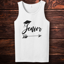 Personalized Senior Men Tank Top