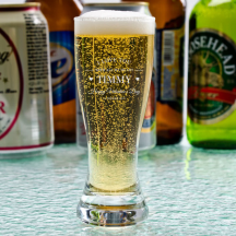 Personalized Valentine's Day Libbey Mini Pilsner / Shooter Glass