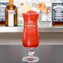 Personalized Valentine's Day Core Hurricane Glass
