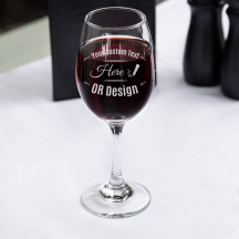 Personalized Core All-Purpose Wine Glass