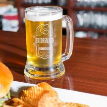 Personalized Bridesmaid Core Beer Mug