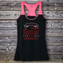 Personalized Proud Mom Of a Graduate Varsity Tank