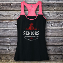 Personalized The Party Don't Start Till We Walk In Graduation Varsity Tank