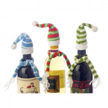 Bundle Up Trio of Knit Bottle Toppers (Set of 3) A Beautiful Gift
