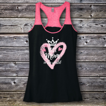 Personalized Best Mom In The World Varsity Tank