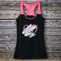 Personalized Love You Mom Varsity Tank