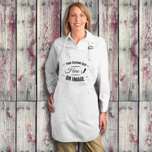 Personalized Full Length Apron with Pockets