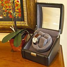 Personalized Stylish Automatic Double Watch Winder