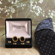 A Gorgeous Cufflink And Stud Set is Perfect For a Formal Affair