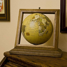 Imax Royale Wood Framed Globe