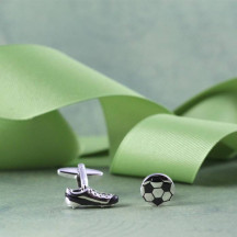 Unique Design Soccer Novelty Cuff Links Great Gift For a Soccer Lover