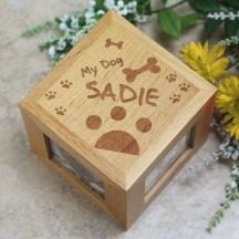 Engraved My Dog Photo Cube