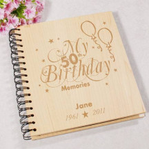 50th Birthday Memories Photo Album