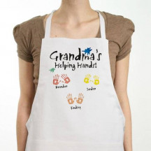 Helping Hands Personalized Apron