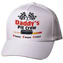 Pit Crew Personalized Hat