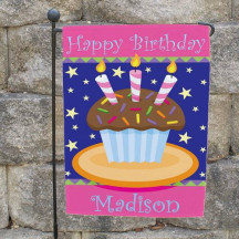 Birthday Garden Flag