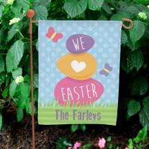 Easter Garden Flag