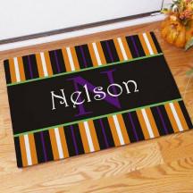 Fall Inspired Name Doormat