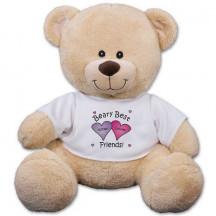 Personalized Beary Best Friends Teddy Bear