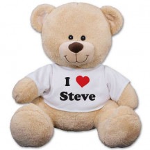 "Personalized ""I Love You"" 12"" Teddy Bear"