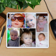 Collage Photo Mouse Pad