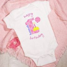 Baby Girl's 1st Birthday Infant Apparel