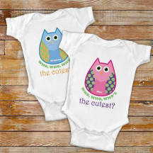 Owl Bodysuit For Baby