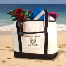 Honeymoon Beach Tote