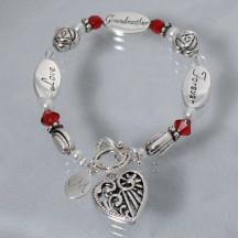 Engraved Grandma Bracelet