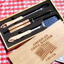 Personalized American Grill Master Set
