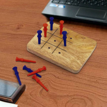 Personalized Tic-Tac-Toe Game Lovely & Entertaining Gift For Everyone