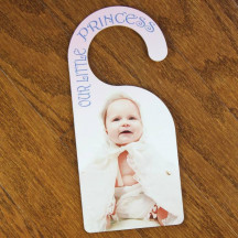Door Hanger with Custom Made Personalized Image Photo