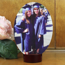 Custom Hardboard Tile Streamline Personalized Photo Stand Gift
