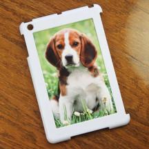 White Personalized iPad Mini Case with Custom Image Photo