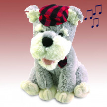 Scotty the Singing Terrier Beautiful And Decorative Gift